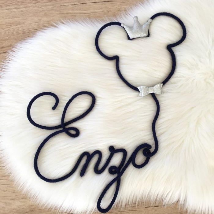 prénom tricotin Mickey